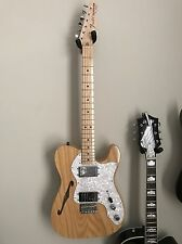 Fender Classic Series '72 Telecaster Thinline Natural Electric Guitar with case