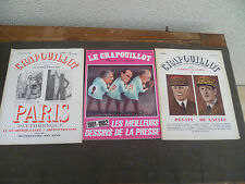 LE CRAPOUILLOT LOT DE 3 REVUES DONT PARIS PITTORESQUE LE QUARTIER LATIN