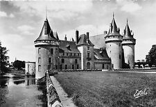 BR5564 Sully sur Loire The Principal front and the Sange tower   france