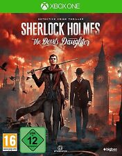 XBOX ONE Spiel Sherlock Holmes The Devil's Daughter NEU&OVP Paketversand