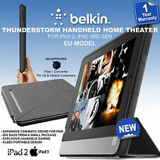 Belkin Thunderstorm G3A1000cw Handheld Home Theater for iPad 3rd & iPad 2nd NEW