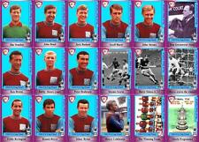 West Ham United FA Cup final 1964 winners football trading cards Bobby Moore