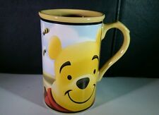 Disney Store Winnie The Pooh Large Yellow Coffee Tea Mug Cup Honey of A Bear