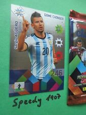 Copa America Chile 2015 Game Changer Aguero Panini Argentinia Adrenalyn