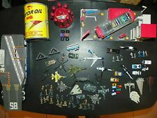 BIG Lot of 1980's / 1990's Galoob Micro Machines Car Wash, Ship, Police Playsets