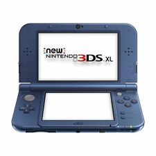 New Style Nintendo 3DS XL Handheld Console Metallic Blue Brand New