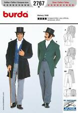 BURDA SEWING PATTERN MENS History 1848 JACKET TROUSERS 34 - 50 2767