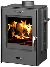 Fireplace Insert Inset Firebox Wood Burning Stove Built In Solid Fuel 9kw VERONA