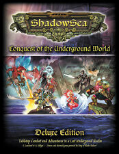 ShadowSea Hardcover - Conquest of the Underground World -  28mm  wargame rules
