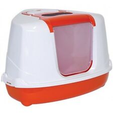 Clean 'N' Tidy Hooded Cat Litter Tray Corner Cat Litter Tray Fun