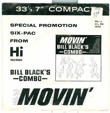 "Bill Black's Combo Movin' Special Promotion six-pac HI HSP-2 7"" 33rpm 6 cuts"