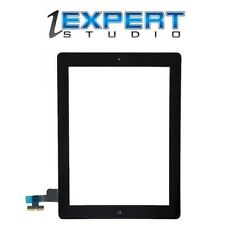 OEM Black Assembly Digitizer Screen Replacement for iPad 2, Home Button Adhesive