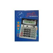 Calcolatrice Elettronica Digitale VM-8003TC 12 Cifre Scuola Ufficio hsb