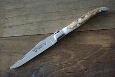 Laguiole en Aubrac Taschenmesser 12 cm Kaktus weiß