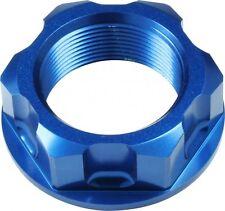APICO Steering Stem Nut KAWASAKI KLX100 02-13 KLX125 10-13 KLX150 09-13 BLUE