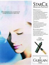 Publicité Advertising 1990 Cosmétique maquillage Guerlain