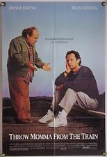THROW MAMA FROM THE TRAIN FF ORIG 1SH MOVIE POSTER BILLY CRYSTAL COMEDY (1987)