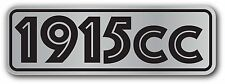 Air Cooled VW 1915CC DECAL STICKER VOLKSWAGEN BEETLE GHIA TYPE 1 TYPE 3 BUS