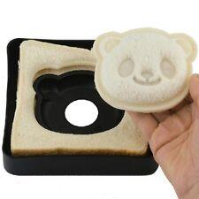 Lindo Panda Forma Sándwich Pan Molde Cortador de pan tostado Maker Hazlo tú mismo niños de herramientas de cocina