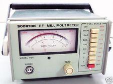 BOONTON 92E RF MILLIVOLTMETER VOLTMETER PROGRAMMABLE