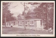 Postcard SOUTH SUDBURY Massachusetts/MA  Allen's Country Store view  1920's?