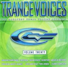Trance Voices 20 - 2 CD Neu - Novaspace Cascada Groove Coverage Limelight