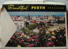 Old Vintage Color Pictures Greeting Cards in a Packet from Perth City Australia