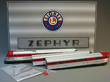 LIONEL LEGACY CHRISTMAS ZEPHYR SET steamline north pole engine passenger 6-38848