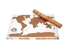 Scratch Map where you have been personalised world map poster Luckies