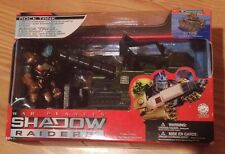 SHADOW RAIDERS Rock Tanks NEW WAR PLANETS action figure/ vehicle Trendmasters