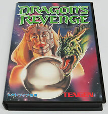 Dragon's Revenge 'sequel' to Devil Crash Japan JPN Mega Drive Tengen * VGC *