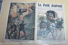 Le petit journal 1910 1008 Courrier des postes sauvé par son chien + incendie