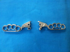 CHROME LEVERS PUNISHER DESIGN - NEW! FOR 2008-2013 HARLEY DAVIDSON  TOURING
