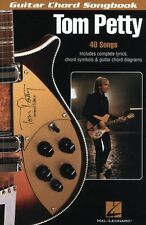 Guitar Chord Songbook Tom Petty Learn to Play Pop Lyrics Music Book