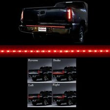 "49"" Long 5 Functions Full LED Rear Brake Reverse Truck Tailgate Light Strip Bar"
