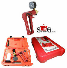 Portable Diesel Brakes Bleeding Bleeder Vacuum Pump Tool Kit + Gauge CT2311