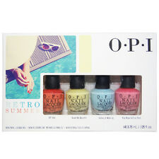 OPI Mini Retro Summer Collection Summer 2016 Nail Lacquer Set of 4