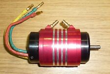 BRUSHLESS WATERCOOLED MOTOR 4082 5 BHP 1600kv Upgrade rc boat 40mm x 82mm