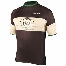 Endura Tobermory Whisky Short Sleeve Bike / Cycle / Cycling Jersey - Medium
