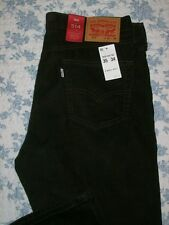 Levis 514 Straight Fit 35x34 Mens Corduroy Jeans Size 35 x 34 Brown NWT