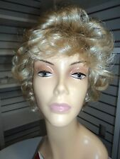JON RENAU LYNN Synthetic Short Curly Wig, Blonde 22
