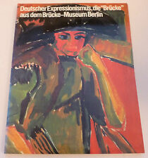 Deutscher Expressionismus die Brucke  JAPANESE 1991 ART EXHIBITION CATALOGUE