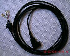 Teléfono-pieza de repuesto: cable de conexión, ca 3 M para W 48,w49, negro con Tae-F, nuevo