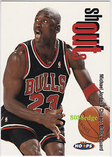 1998-99 HOOPS SHOUT OUTS: MICHAEL JORDAN #12 - 9 TIMES ALL-DENFENSIVE 1ST TEAM