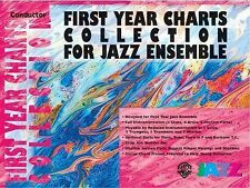First Year Charts Collection for Jazz Ensemble: 2nd E-Flat Alto Saxophone