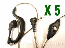 5 pcs x 3.5mm Earpiece for Yaesu VX2R VX3R VX150 FT60 VX210 vertex radio part