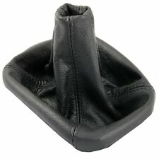 FORD MONDEO 07-13 LEATHER GEAR STICK GAITER BOOT COVER BLACK STITCH NEW