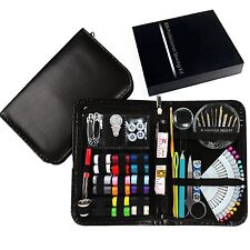 New Design Professional Sewing Supplies Kit With Leather Case by Back2Basics ...