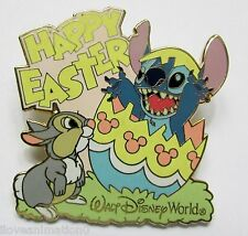 Disney Happy Easter Stitch & Thumper Pink Variation Pin