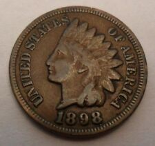 1898 Indian Head Cent / Penny **FREE SHIPPING**